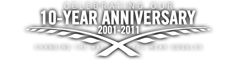 Goggle Grip®: Celebrating Our 10-Year Anniversary 2001-2011